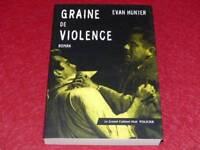 [BIBLIOTHEQUE H.& P-J.OSWALD] GRAND CABINET NOIR - EVAN HUNTER VIOLENCE 2000