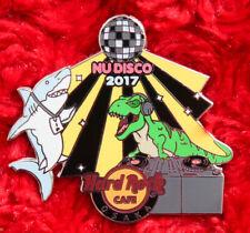 Hard Rock Cafe Pin OSAKA Nu Disco SHARK DINOSAUR Dj VIP lanyard party T REX