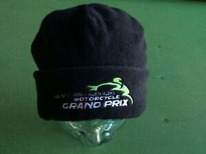 PHILLIP ISLAND 2002 OFFICIAL MOTORCYCLE GRAND PRIX CAP/BEANIE REVERSIBLE.