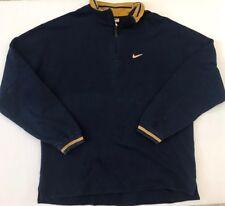 Nike Old Tag 1/2 Zip Pullover Sweatshirt Men XL Vintage Worn
