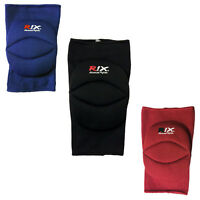 Rix Knee Cap Guards Padded Brace Support Protector Pads MMA Volleyball Wrestling