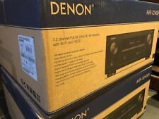 DENON AVR-X2400H 7.2 AV-Receiver HEOS Dolby Atmos 4k UHD 3D Hi-Res-Audio NEU/OVP