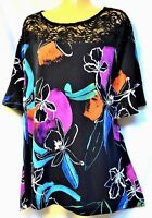 TS top TAKING SHAPE plus sz M / 18 - 20 Bella Donna Top soft stretch NWT rrp$120