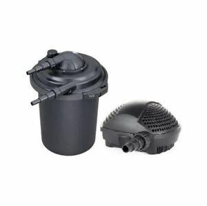 Swell UK Pressurised Pond Filter & Pond Pump Sets for Koi Fish + UV Steriliser