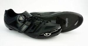 Giro Sentrie Techlace Men's Carbon Road Shoes 11.5 US 45.5 Black Easton EC70
