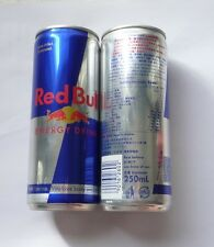 RED BULL can HONG KONG Tall 250ml Promo 2015 Chinese Asia Collect 13cm Tall