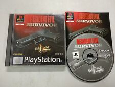 Resident Evil Survivor - PSX PS1 - Playstation Play Station - PAL ESP
