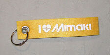 Mimaki Filz Schlüsselband Lanyard NEU (A51v)