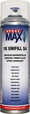 1K Universalgrundierfüller S4 Mittelgrau 500ml680411 Spray Max (21,98€/L) Kwasny