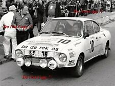 John Haughland & Rupert Saunders Skoda 130 RS RALLYE Skoda 1978 fotografía 1