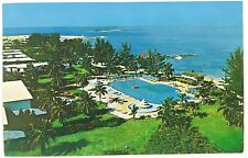 Bird's Eye Aerial View Grand Bahama Hotel West End Grand Bahama Islands Postcard