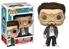 Funko POP! Spider-Man Homecoming: Tony Stark - Vinyl Bobble-Head Figure 226 NEW