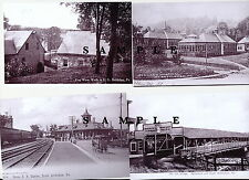 BETHLEHEM, PA-  4 IMAGES  C.1906 - ST.  LUKE'S,  PENNY  BRIDGE,  WATER WORKS,ETC