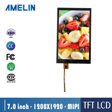 7 inch 1200*1920 touch panel  tft lcd screen with MIPI LCD Modules with CTP