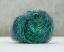 10g Angelina Fibre Peacock Green Heat Bondable Crafts Fusible Felting Dreads