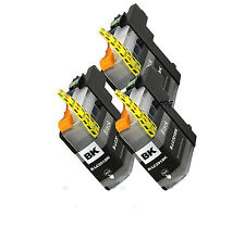 3pk BLACK Set LC203XL Ink Combo For Brother LC201 MFC-J460dw MFCJ480dw MFCJ485dw