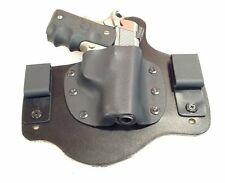 Leather Kydex Holster COLT Defender 9mm 40 45 leather lined IWB MTO
