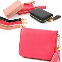 wallet purse Women Clutch bill·fold Lady Handbag Card Long Bifold Wristlet Cross