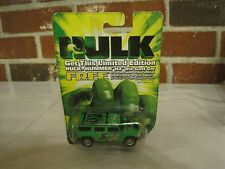 2003 LIMITED EDITION HULK HUMMER H2 - MOUNTAIN DEW - DIE CAST 1:64 SCALE