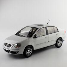 ORIGINAL MODEL 1:18 Volkswagen VW,POLO JINQING SEDAN 2007,WHITE