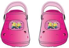 Kinder Schuhe Clogs Sandalen Sandaletten Minions pink Gr. 32/33