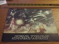STAR WARS   1977   MOVIE PROGRAM
