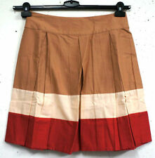 A-Line Striped 100% Cotton Skirts for Women