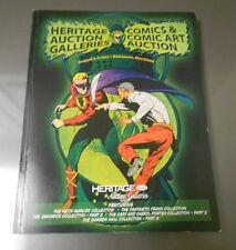 2007 HERITAGE Comics Comic Art Catalog Fantastic Frank WARREN HALL Collection