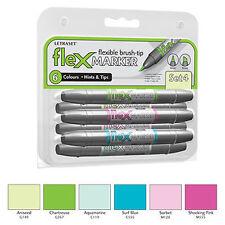 Letraset FlexMarker 6 Pen Set - Set 4 - Flex Markers