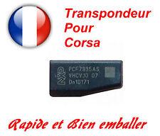 Transpondeur d'antidémarrage Opel Corsa 2000 - 2006