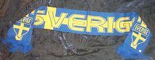 SCHAL SCHWEDEN SWEDEN FANSCHAL FUßBALL WM FAN SCHAL FAHNE FLAGGE FLAG SVERIGE