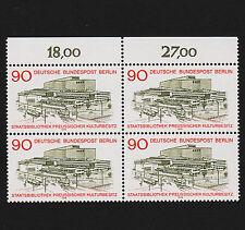 1979 germany Berlin Sc#9N421 Mi#577 Numeral Margin Block Mint Never Hinged
