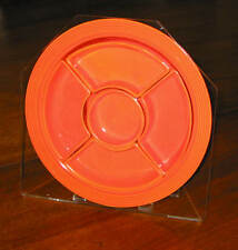 HOLDER FOR FIESTA RELISH TRAY -PLEXIGLASS  -TILTED MODEL