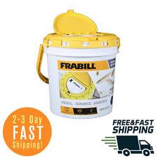 Frabill 4825 Insulated Fishing Bait Bucket Built in Aerator