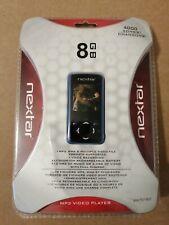 NEW Nextar Digital MP3 VIDEO Player 8 GB MP3 WMA AVI JPEG MA797-803 Sealed