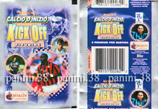 "RARE !! Pochette ""CALCIO KICK OFF 1997-1998"" packet, tüte, bustina PANINI MERLIN"
