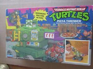 Turtle Pizza Thrower Sealed MISB Original Ninja Turtles TMNT