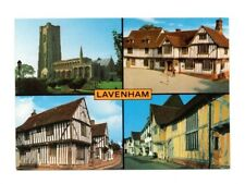 Suffolk - Lavenham - Multiview Postcard