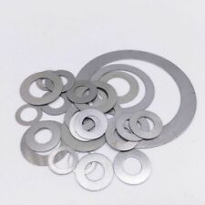 Shim Washers 0.1mm / 0.3mm / 0.5mm / 1.0mm Thick DIN 988 High Quality Steel