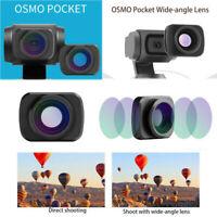 External Wide-Angle Lens & Filter For DJI OSMO Pocket Handheld Gimbal Stabilizer