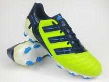 Adidas Mens Rare P Absolion TRX FG V23588 Green Navy Soccer Cleats Size 11.5