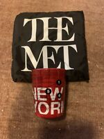 New York City (NYC) Shot Glass with The Met Bag - New