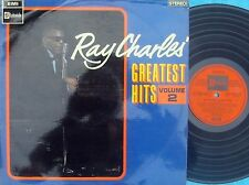 Ray Charles ORIG OZ LP Greatest hits Vol. 2 VG+ '67 Stateside SOSL10241 R&B Soul