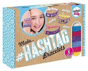 myStyle Craft Hashtag Bracelets - Making Girls Crafts Gifts for Kids