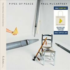 PAUL McCARTNEY Pipes Of Peace 2 CD Set + TOTE BAG best buy