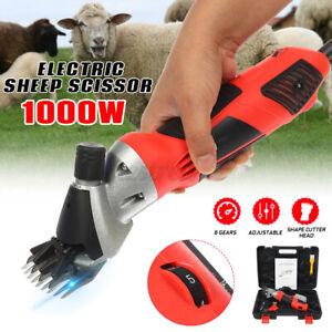 1000W Electric Sheep Shearing Goat Clipper Scissor Shear Alpaca Farm Livestock