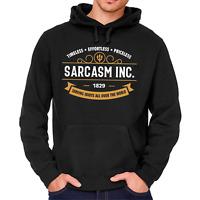 SARCASM INC. Sarkasmus Ironie Böse Evil Spruch Kapuzenpullover Hoodie Sweatshirt