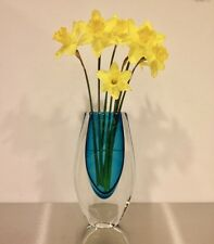 SIGNED Art Piece by Jesse Reece for Tiffany & Co. Hand Blown Contemporary Vase