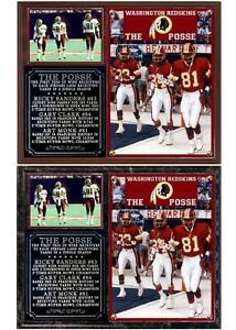 The Posse Gary Clark #84 Art Monk #81 Rickie Sanders #83 Washington Redskins
