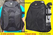 FULL SIZE PADDED BACKPACK CASE BAG fit CAMERA NIKON P500 P510 P520 P530 D3300